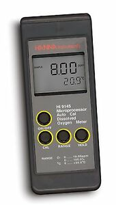 Hanna Instruments Hi 9145 Portable Dissolved Oxygen Meter With Extended Range