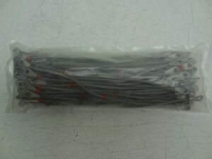 Lot Of 100 Mil spec 8 5 Inch Terminated Bonding Copper Jumper Cables new