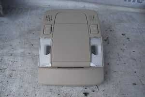 2006 2011 Cadillac Dts Oem Overhead Without Homelink Switch Dome Light Lamp Tan