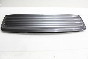 Porsche 996 Carrera 911 Rear Engine Hood Trunk Deck Lid Spoiler Cover Trim Grill