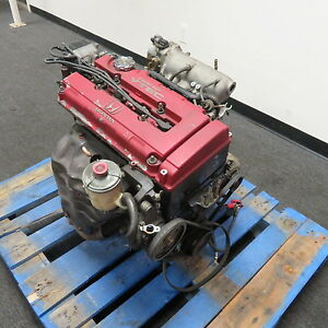 Jdm Acura Integra Type R Engine B18c 1 8l Vtec Itr Dc2 96 97 B18c Long Block