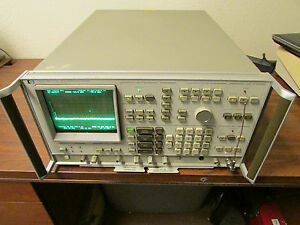 Hp Agilent 3585a Spectrum Analyzer 20hz 40mhz Working With Bright Display