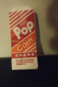 50 1oz Gold Medal Popcorn Bags Party Home Movies Concession Carnival Free Ship
