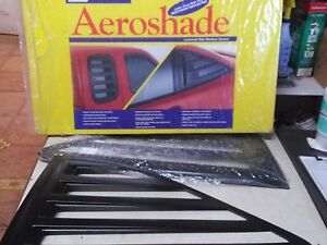 Aeroshade Side Window Covers Auto Ventshade 97345 96 00 Honda Civic 2 Dr