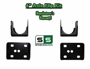 2002 2008 Dodge Ram 1500 6 Rear Axle Lowering Flip Kit 2wd 4wd Truck 02 08