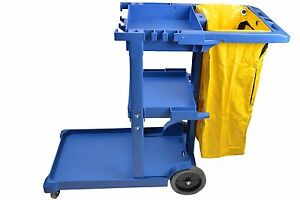 Cleaning Cart Janitor Housekeeping Commercial Janitorial Supplies 25 Gallon Bag