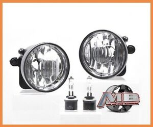 2004 2006 Chevy Suburban Tahoe Fog Lights Clear Lens Pair Z71 Package Only