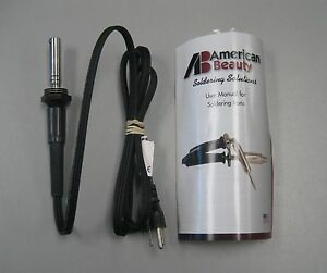 New American Beauty 3112 60 Production ready Pencil Style Soldering Iron 3112