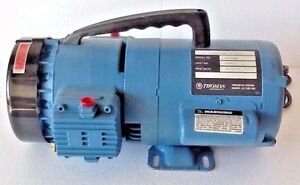 Thomas Piston Pump Oil less Compressor vacuum 110 220v Gh 405b 50 Psig