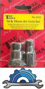 Air Hold Fitting Set 14mm 18mm Holds Valves Closed T E Tools Dallas