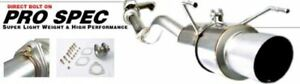 Buddy Club Bc03 Psexem2 Pro Spec Cat Back Exhaust System For Honda Civic 2001 Up