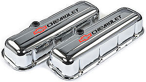 Proform Stamped Steel Chevrolet Valve Covers 141 813 Chevy Bbc 396 427 454