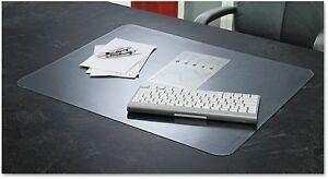 Krystalview Desk Pad With Microban Matte Finish Clear Smooth Handwriting
