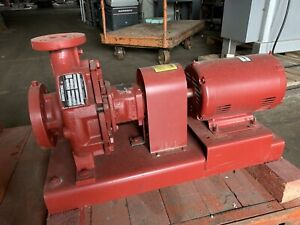 Armstrong Pump 4030 Base Mounted End Suction Centrifugal 5hp 3 X 1 5 X 8 35gpm