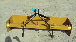 3pt 6 Box Blade With Rippers Bbx72 New