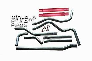 Heartthrob 4804gp 2 1 4 In Manifold Dual Exhaust System For Suburban New