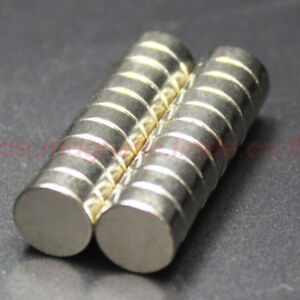 Lots 50 100pcs 10mm X 4mm Disc Strong Magnets Disc Rare Earth Neo Neodymium N50