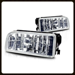 1992 1998 Bmw E36 3 Series Oem Replacement Fog Lights Lamps Crystal Clear Lens