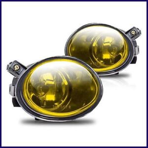 2001 2006 Bmw E46 M3 Oem Replacement Amber Yellow Fog Lights Lamps Bulb Pair Set