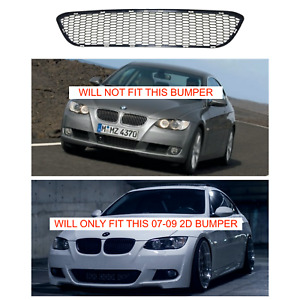 Bmw 2007 09 Pre Lci E92 Mtech Front Bumper Replacement Plastic Lower Mesh Grille