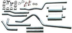 Heartthrob 1014804 2 1 4 In Manifold Dual Exhaust System For Suburban New