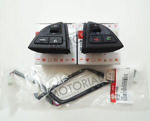 2011 2012 2013 2014 Kia Picanto Morning Oem Audio Handsfree Control Switch Set