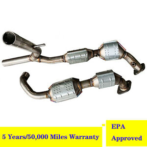 Catalytic Converters For 2004 2005 Ford F150 5 4l 4wd Epa Obd Approved