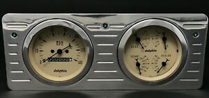 1940 1941 1942 1943 1944 1945 1946 1947 Ford Truck Gauge Cluster Tan
