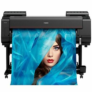 Pro 4000 Canon 44 Printer 12 color Wide Format New free Media 111 mo W 0