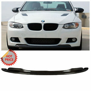 Bmw E92 2007 09 Arkym Style Carbon Fiber Front Lip For Pre Lci Mtech Bumper Only