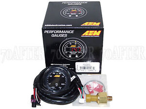 Aem 30 0301 X series Electronic 100psi 7bar Fuel Pressure Gauge Meter