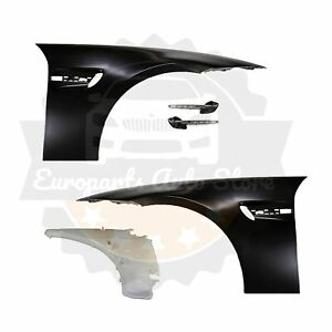 Bmw M3 Style Fenders W Vent Led Side Markers W Tank For E90 E91 Oem Material