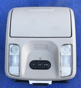 2004 2008 Chrysler Pacifica Overhead Console With Homelink Light Gray