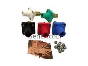 Camlok Panel Mount Female Set Of 5 Green White Black Red Blue Cls40frb abcde
