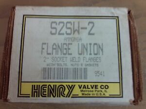 Henry S2sw 2 Ammonia Flange Union Surface Rust From Storage 1j 1255 d3