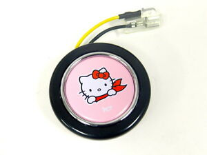 Hello Kitty Steering Wheel Horn Button Jdm Japan