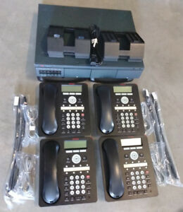 Avaya Ip Office 500v2 Business Phone System Vmail 700476005 1408 Digital Phones