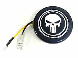 Punisher Skull Steering Wheel Horn Button