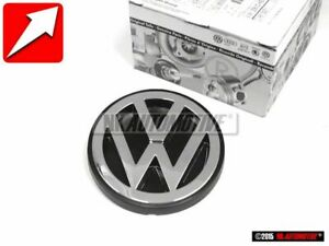 Original Vw Rear Boot Trunk Badge Emblem Chrome 701853601f Drr