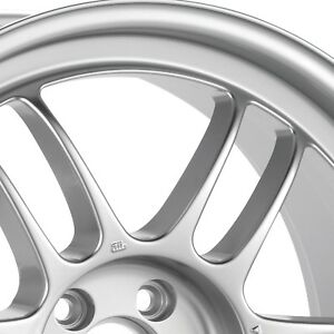 1 Enkei Racing Rpf1 18x7 5 5x114 3 48mm F1 Silver Wheel rim