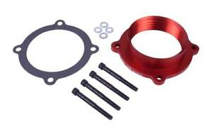 Airaid 300 637 Poweraid Throttle Body Spacer For 2012 2017 Jeep Wrangler 3 6l