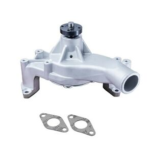 Tsp Ford Big Block Fe 352 390 428 Aluminum High Flow Water Pump Satin Hc8053p