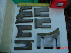 Lot 6 Moulder High Speed Knives Blades stock 3