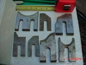Lot 7 Moulder High Speed Knives Blades stock 8
