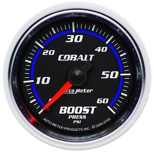Autometer 6105 Cobalt Mechanical Boost Gauge