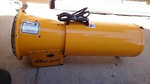 Pelsue 1375d Blower W 15 120 Vac Blower Hose And Storage Can All in one 668 Cfm
