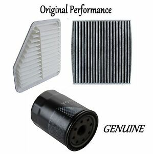 Tune Up Kit Cabin Air Oil Filters For Toyota Corolla Xrs 2 4l 2008 2010