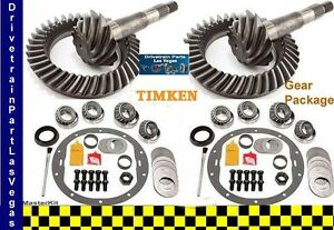 Dtplv Dana 35 30 Jeep Ring And Pinion Gear Set Pkg W Master Kit 3 73 Ratio