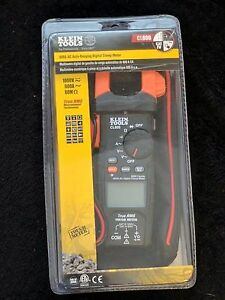 Klein Tools Cl600 Ac Auto ranging 600 Amp Digital Clamp Meter New