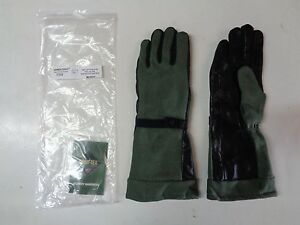 New Handlogic Gore tex Pol Fuel Handlers Leather Glove 70w Medium Sage Green